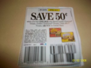 (10) .50/1 General Mills Cereal Treat Bars