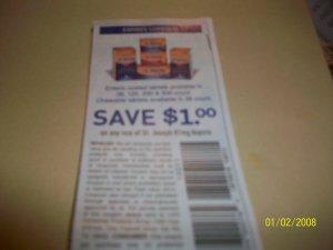 10 - $1/1 St Joseph 81 mg Aspirin