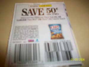 10 - .50/2 Chex Mix or Chex 100 Calorie Snack