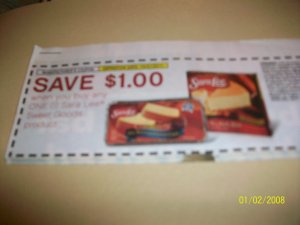 10 - $1/1 Sara Lee Sweet Goods Product