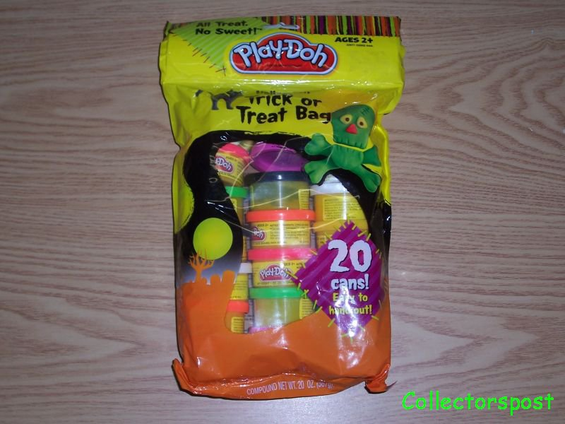 Play-Doh Trick or Treat bag 20 cans