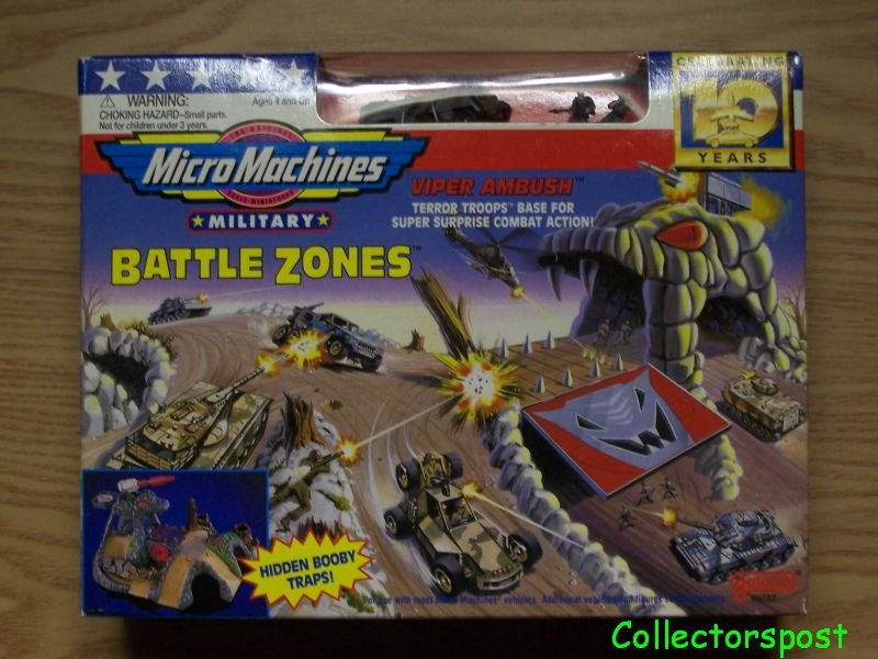 Micro Machines Battle Zones Viper Ambush