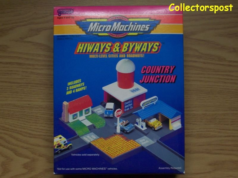 Micro Machines Hiways & Byways Country Junction