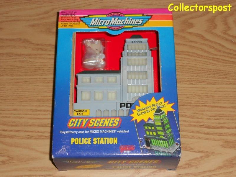 Micro Machines City Scenes Police Station