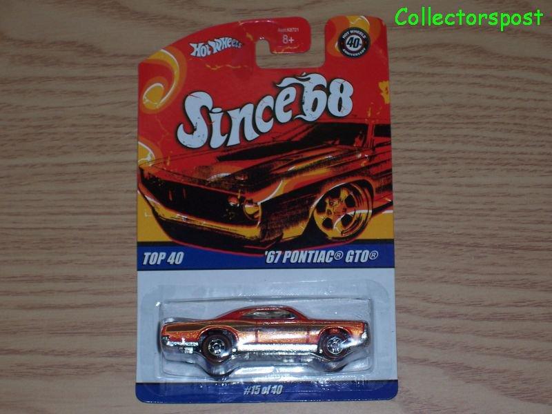 Hot Wheels Since '68 Top 40 1967 Pontiac GTO #15 of 40