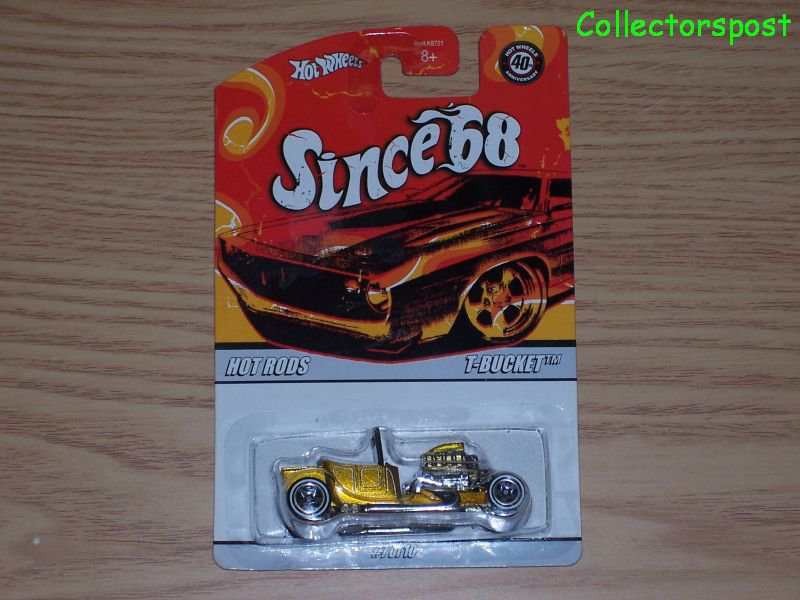 Hot Wheels Since '68 Hot Rods T-Bucket #7 of 10