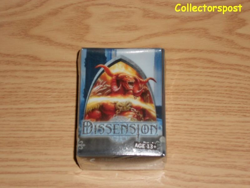 Magic the Gathering Dissension deck box with life counter