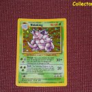 Pokemon Base Set Unlimited Nidoking Holo