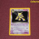 Pokemon Team Rocket Set Unlimited Dark Alakazam Holo