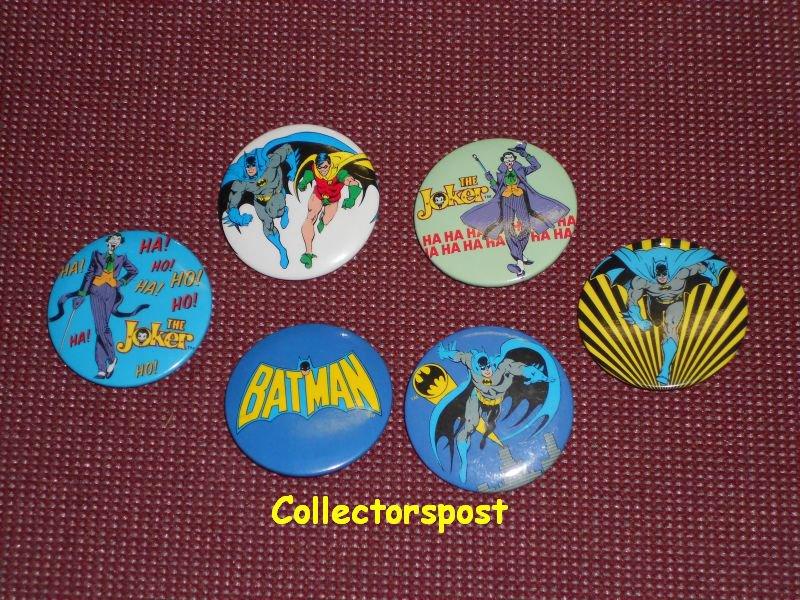 Batman Buttons