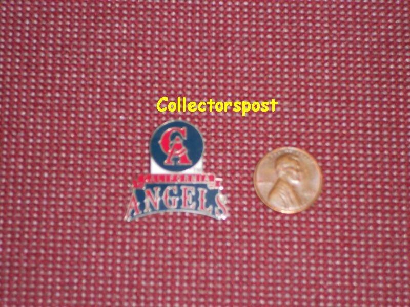 MLB California Angels old logo with name pin