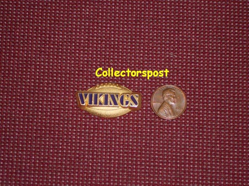 NFL Minnesota Vikings name pin