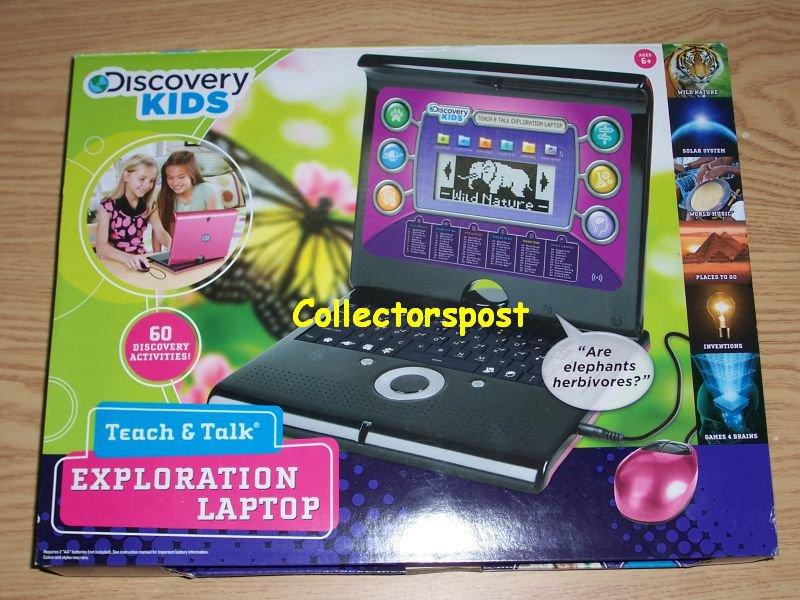 Discovery Kids Teach & Talk Exploration Laptop