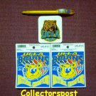 UCLA Bruins 1995 National Champions stickers