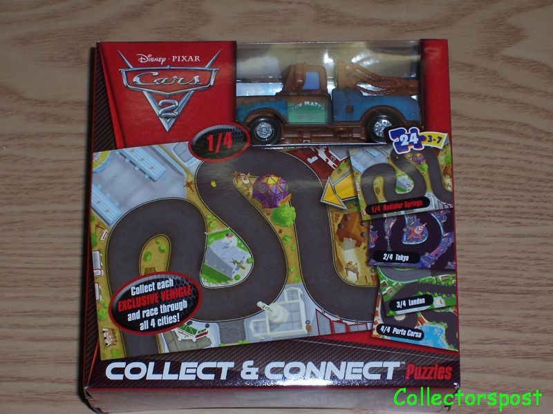 Disney Pixar Cars 2 Collect and connect puzzles