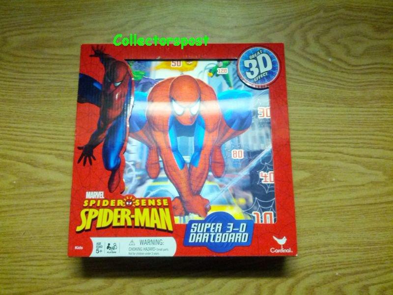 Spider-Man Super 3-D Dartboard