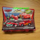 Disney Pixar Cars 2 2-pack Francesco Bernoulli and Lightning McQueen