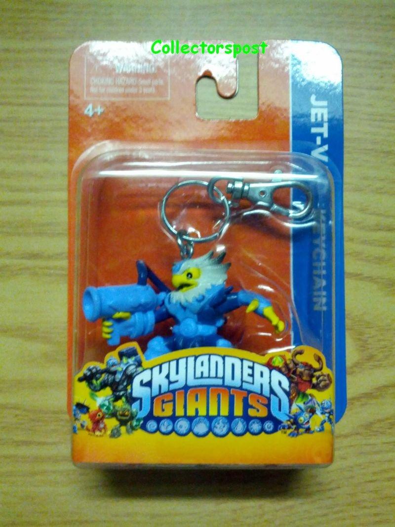 Skylanders Giants key chain Jet-Vac