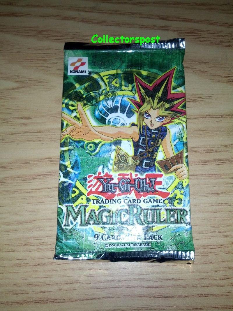 Magic Ruler unlimited booster Yugioh