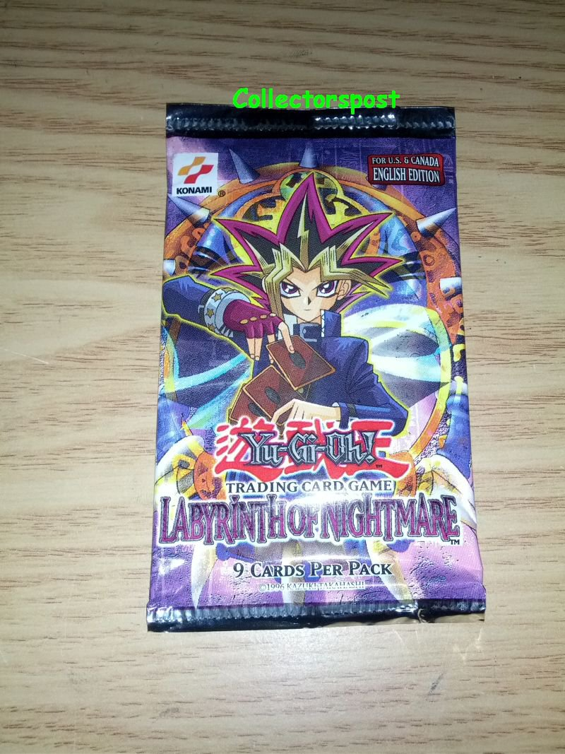 Labyrinth of Nightmare unlimited booster Yugioh