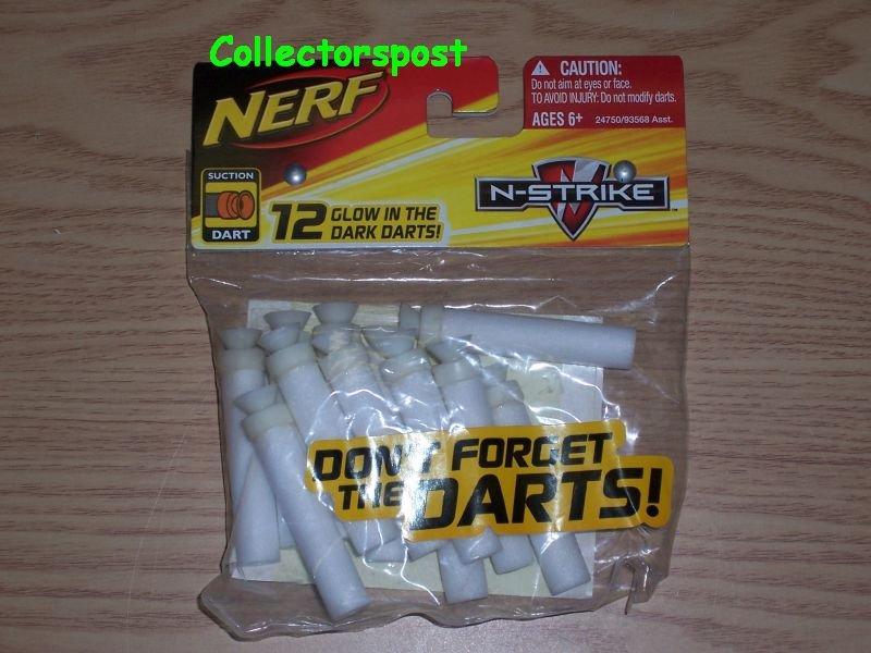 Nerf N-Strike 12 Glow in the Dark Darts