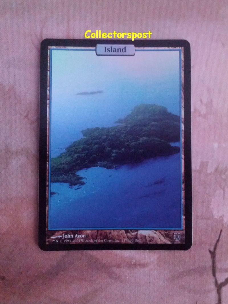 MTG Unhinged Island Full Art Foil