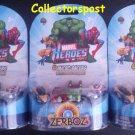 Zerboz Marvel Heroes Micro Racers x3