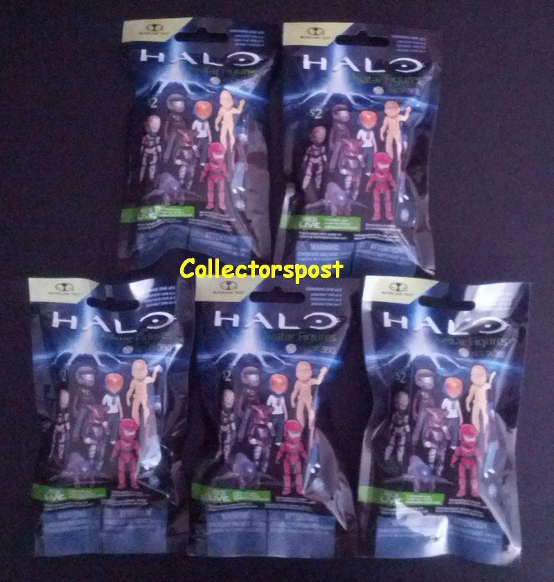 Halo Avatar Figures Series 2 5 packs