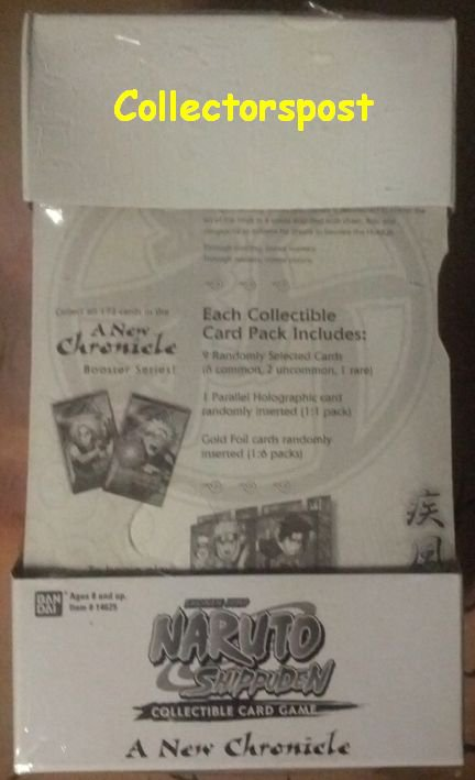 Naruto CCG A New Chronicle 15 sealed booster packs