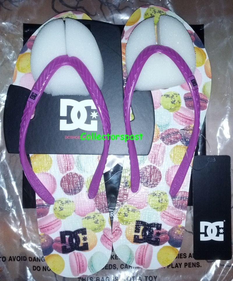 DC Women Sandals Size 8 US 2 Pairs