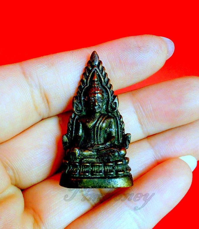 THAI AMULET YANT PENDANT POWERFUL BUDDHA TALISMAN PHRA RARE CHINNARAT WAT SUTAD