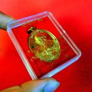 Thai Amulet Buddha Phra Old Magic Luck Rare Wealth Talisman LP Hong Coin Temple