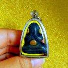 Pidta Mahalarp Thai Phra Amulet Buddha Rare Pendant Wealth Talisman Luck Wat Old