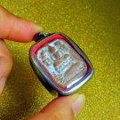 Somdej Lp Parn Thai Amulet Phra Wat Magic Pendant Monk Powerful Buddha Pla Fish