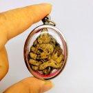 Phra Lp Thai Amulet Buddha Rare Wat Pendant Choa Khun Nor Yant Powerful Talisman