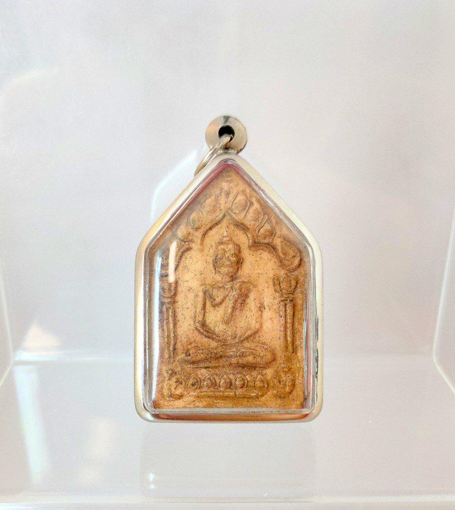 025 Thai Buddha Amulet Phra Pendant Talisman Powerful LP Tim Wat Rahanrai Charm