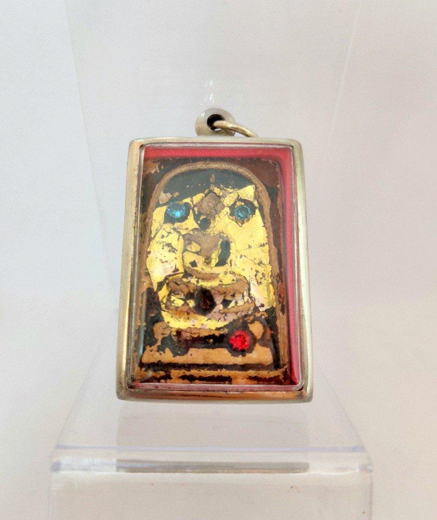 099 Thai Buddha Amulet Phra Pendant Talisman Powerful LP Somdej Buddhist Merit