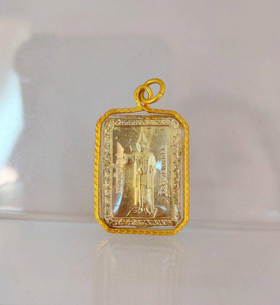 133 Thai Buddha Amulet Phra Pendant Talisman Powerful LP ThepTunjai Holy Yant AJ