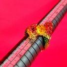 567 Adjustable Ring Thai Buddha Amulet Phra Talisman Powerful Wealth LP Dragon