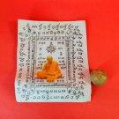 608 Thai Buddha Amulet Talisman Powerful Wealth LP Tim Look Om Magic Charm Merit