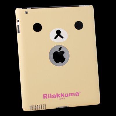 New Korilakkuma Bear Hard Cover Case for Apple iPad 2
