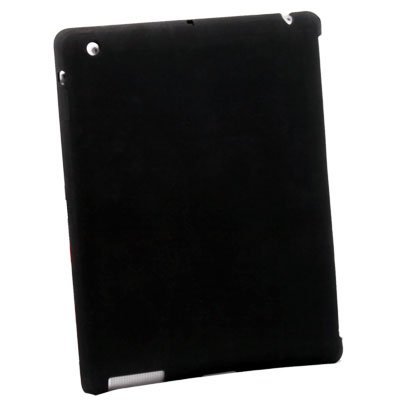 For Apple iPad 2 Silicone Case Work With Apple Smart Cover Black