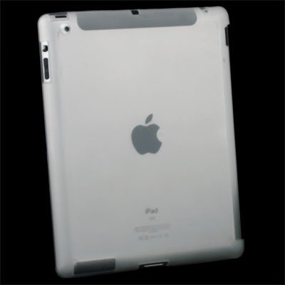 Clear Crystal Hard Case Cover for Apple iPad 2