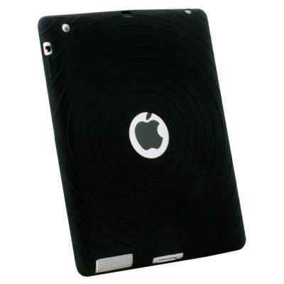 For iPad 2 Silicone Case Cover Black