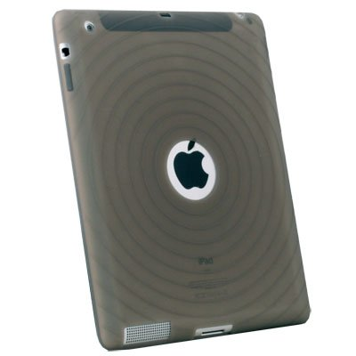 Silicone Case Cover for Apple iPad 2 2G (Gray)
