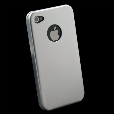 Sliver Aluminum Metal Cover Case For iPhone 4 4G #5960#