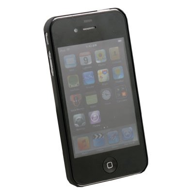 Hard Thin Case Cover for APPLE iPHONE 4 4G Black
