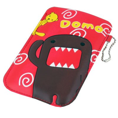 For iPhone 4 4S Mobile Phone Domo Leather Case Cover Bag