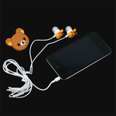 Rilakkuma Earphone Headphones For MP3 MP4 PC IPHONE PSP