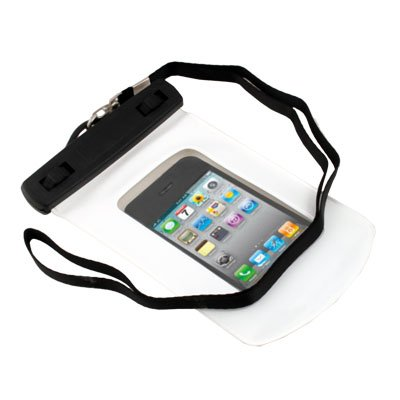White Waterproof Hard Case Cover for Apple iPhone 4G